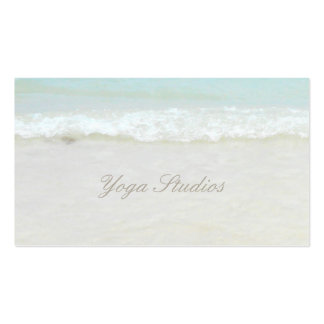 Yoga Reiki Spiritual Healing Water Studio Business Double-Sided Standard Business Cards (Pack Of 100)