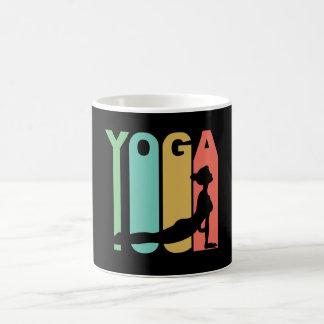 Yoga Retro Design Coffee Mug