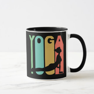 Yoga Retro Design Mug