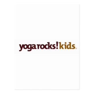 Yoga Rocks! Apparel Postcard