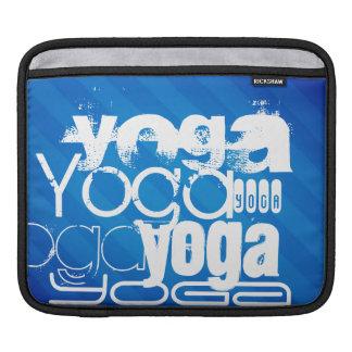 Yoga; Royal Blue Stripes Sleeve For iPads