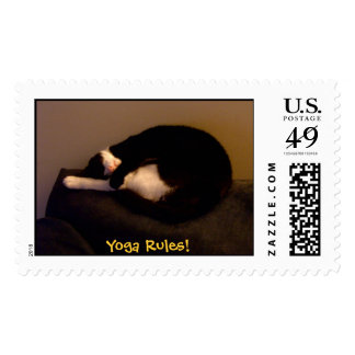 Yoga Rules! Stamps