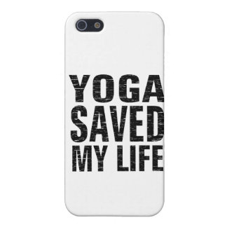 Yoga Saved My Life - iPhone 5 Case, Matte iPhone SE/5/5s Cover