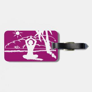Yoga Scenic Zen Meditation Bag Tag