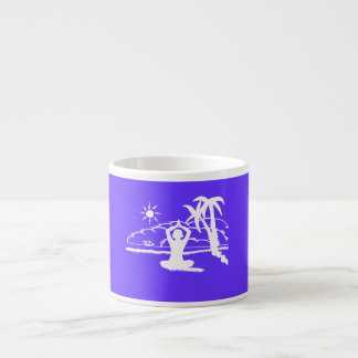 Yoga Scenic Zen Meditation Espresso Cup