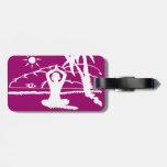 Yoga Scenic Zen Meditation Luggage Tags
