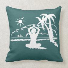 Yoga Scenic Zen Meditation Pillow