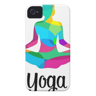 Yoga setting and fitness iPhone 4 cover
