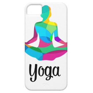 Yoga setting and fitness iPhone SE/5/5s case