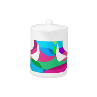Yoga setting and fitness teapot