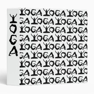 Yoga Silhouettes Binder