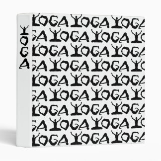 Yoga Silhouettes Binders