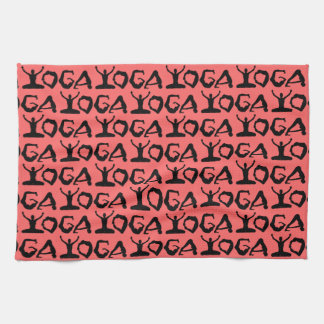 Yoga Silhouettes Towel