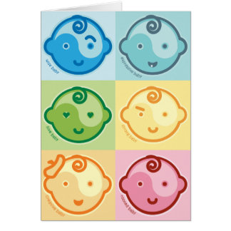 Yoga Speak Baby : All Baby Chakras Card