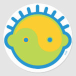 Yoga Speak Baby : Big Boy Yin-Yang Sticker