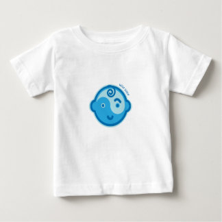 Yoga Speak Baby : Blue Wise Baby Chakra Baby T-Shirt