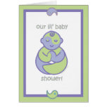 Yoga Speak Baby : Lil' Baby Shower! Note Card