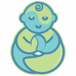 Yoga Speak Baby : Lil' Yogi Pin Acrylic Cut Outs
