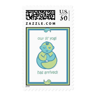 Yoga Speak Baby : Lil' Yogi Postage