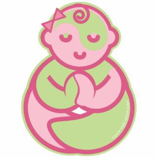 Yoga Speak Baby : Lil' Yogini Pin Statuette