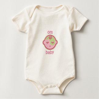 Yoga Speak Baby : Om Baby Baby Bodysuit