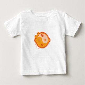 Yoga Speak Baby : Orange Creative Baby Chakra Baby T-Shirt