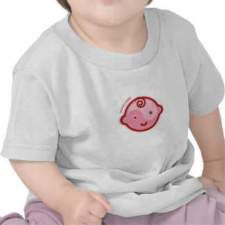 Yoga Speak Baby : Red Chakra Rooted Baby Tee Shirt