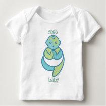 Yoga Speak Baby : Tree Pose Yoga Baby Baby T-Shirt