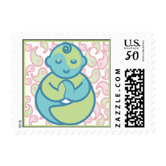 Yoga Speak Baby : Yoga Baby Postage - Paisley