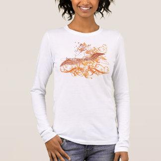 "Yoga Speak : ""Be Creative"" Orange Chakra Long Sleeve T-Shirt"