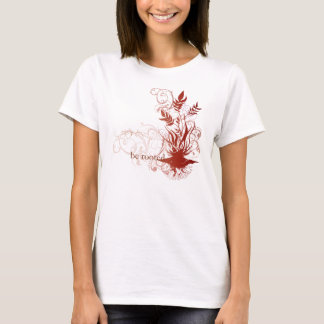 "Yoga Speak : ""Be Rooted: Red Chakra T-Shirt"