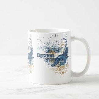 Yoga Speak : Blue X-pressive Chakra Coffee Mug
