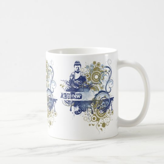 Yoga Speak : Indigo Knowing Chakra Coffee Mug