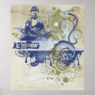 Yoga Speak : Indigo Knowing Chakra Poster