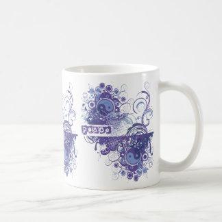 Yoga Speak : Purple Peace Chakra Coffee Mug
