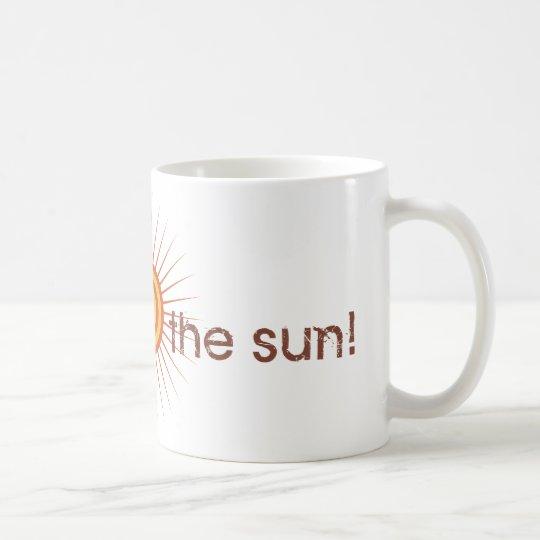 Yoga Speak : Salute The Sun! Coffee Mug