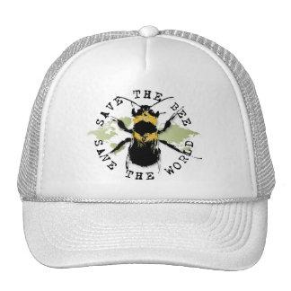 Yoga Speak : Save the Bee...Baseball Cap