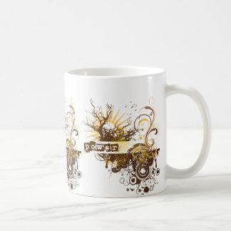 Yoga Speak : Yellow Power Chakra Classic White Coffee Mug