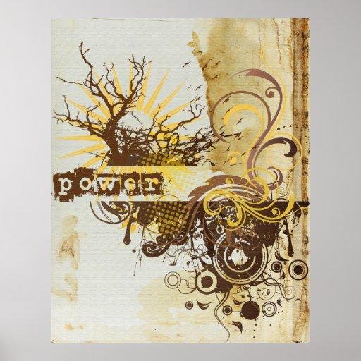 Yoga Speak : Yellow Power Chakra Print
