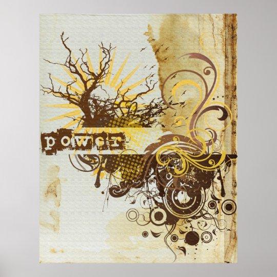 Yoga Speak : Yellow Power Chakra Poster