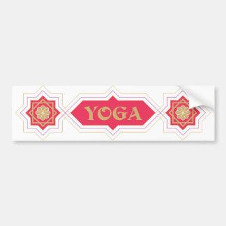 Yoga Spirit bumper sticker
