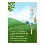 "Yoga Spirit Invitation 5"" X 7"" Invitation Card"