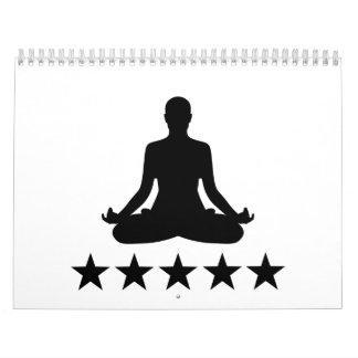 Yoga stars calendar
