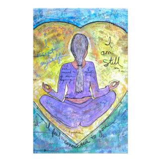 Yoga Stationery