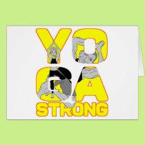 Yoga Strong Card