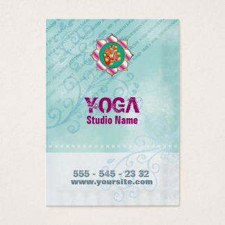 Yoga Studio - Business Card