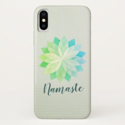 YOGA Studio Meditation Instructor Colorful Mandala iPhone X Case
