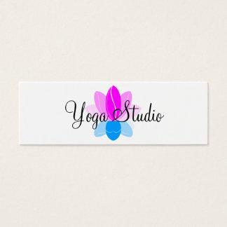 Yoga Studio Mini Business Card