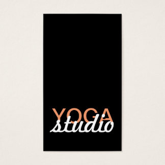 yoga studio punch card