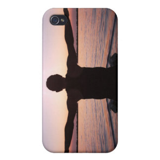 Yoga Sun Salutation i Cover For iPhone 4